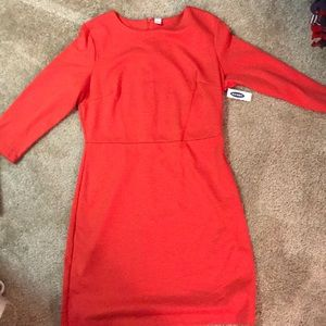 Old Navy Never Worn Fitted Pink Dress